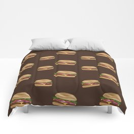 Cheeseburgers! Comforters