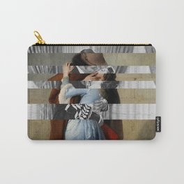 Hayez's The Kiss & Clark Gable and Vivien Leigh Carry-All Pouch