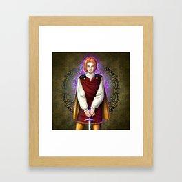 Squire Alan Framed Art Print