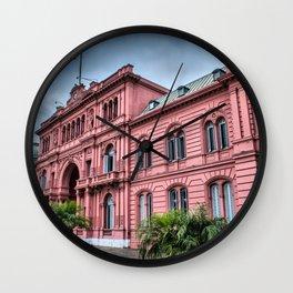 Casa Rosada de Buenos Aires Wall Clock
