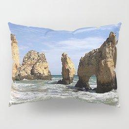 Coast of Lagos Portugal Pillow Sham