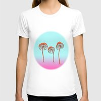 mushrooms T-shirts featuring mushrooms by terastar