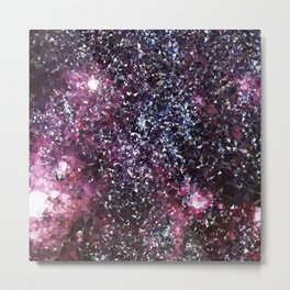 Galaxy Low Poly 21 Metal Print
