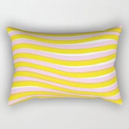 waves at sunrise Rectangular Pillow