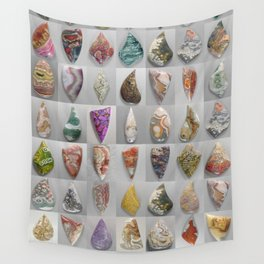 Agate Montage Wall Tapestry