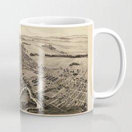 Map Of Latrobe 1900 Coffee Mug