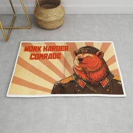 Work Harder, Comrade! Rug