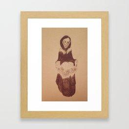 Death's pretty Framed Art Print