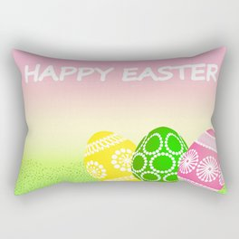 Happy Easter Rectangular Pillow