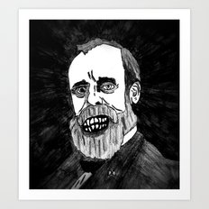 19. Zombie Rutherford B. Hayes  Art Print