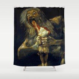 "Francisco Goya ""Saturn Eating his Son"" Shower Curtain"