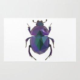 Lowpoly Dung Beetle Rug
