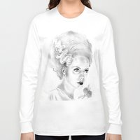 bride Long Sleeve T-shirts featuring Bride by Leyla Buk
