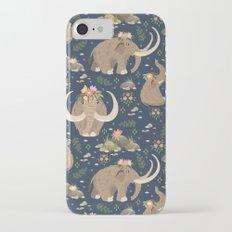 Cute mammoths iPhone 7 Slim Case