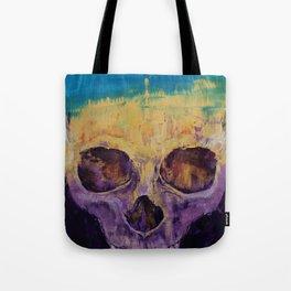 Grunge Skull Tote Bag