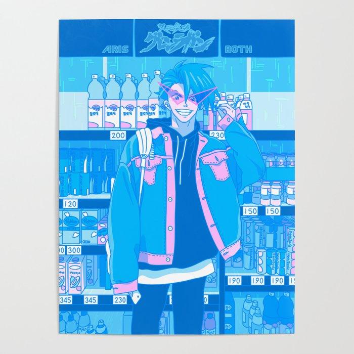 Tokyo BF w/ Kamina - Shibuya Shopping Poster