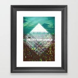 M83 - Midnight City Framed Art Print