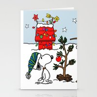 snoopy Stationery Cards featuring Snoopy 01 by tanduksapi