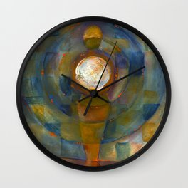 The Moon Within Me Wall Clock
