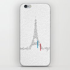 Eiffel Tower   Paris, France   Esperantos   StoryScape #1 iPhone & iPod Skin