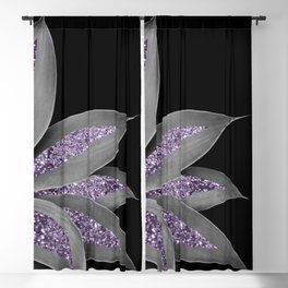 Agave Finesse Glitter Glam #3 #tropical #decor #art #society6 Blackout Curtain