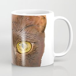 Havana Domestic Brown Cat stupid elongated savy aspect Coffee Mug