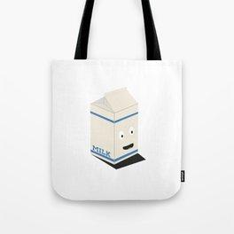 Cute kawaii milk carton Tote Bag