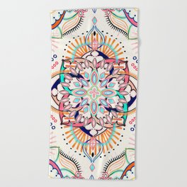Summer Festival Pop Beach Towel