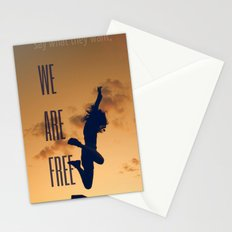 FREE (with text) Stationery Cards