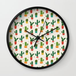 Pointed cactus Wall Clock