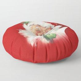 Vintage Santa Floor Pillow