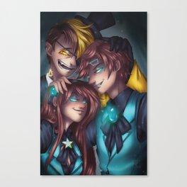 Reverse Falls Canvas Print