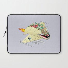 Taco Fighter Jet Laptop Sleeve