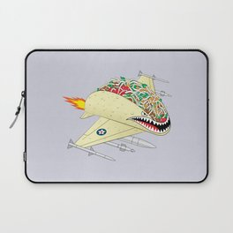 Taco Fighter Jet Laptop Sleeve