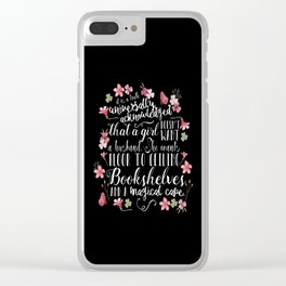 Truth Universally Acknowledged Clear iPhone Case