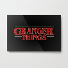 Granger Things ! Metal Print