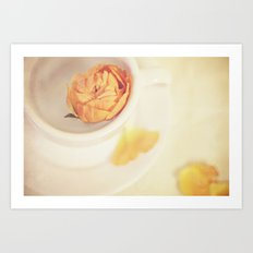 A cup of sweetness Art Print