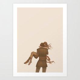 Make Me Love You Art Print
