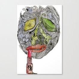 Enfermedad Canvas Print