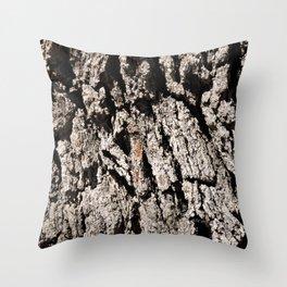 TEXTURES: Englemann Oak Bark Throw Pillow