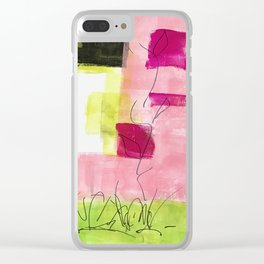 Daydreams of Spring - Enjoy Spring Blooms Clear iPhone Case