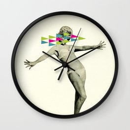Playing Hard To Get Wall Clock