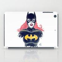 batgirl iPad Cases featuring Batgirl by Alejandro Pinpon