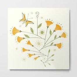 Super Bloom Poppy Mobiles ©studioxtine Metal Print