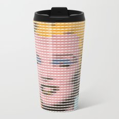Pantone as pixel Marilyn Metal Travel Mug