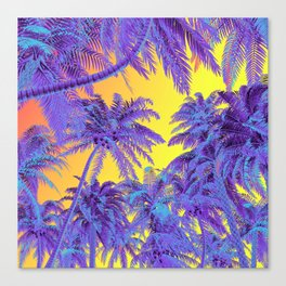Polychrome Jungle Canvas Print