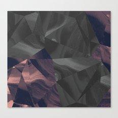 Irregular Marble Canvas Print