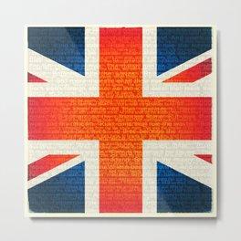 Union Jack and Rule Britannia! Metal Print