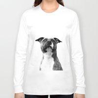 dog Long Sleeve T-shirts featuring Dog by Falko Follert Art-FF77