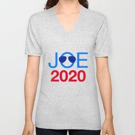 Joe Biden 2020 Aviator Sunglasses Unisex V-Neck